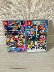 今週末限定価格!!大乱闘スマッシュブラザーズSPECIAL & マリオカート8デラックス Nintendo Switch