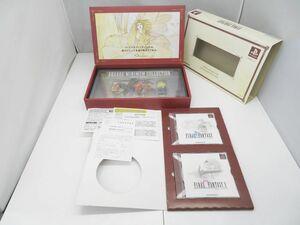 iwb042 PS ファイナルファンタジーI・II プレミアムパッケージ 未使用のフィギュア付 BOX入り プレイステーション