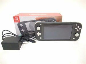 056/ 任天堂 Nintendo Switch Lite ニンテンドースイッチ ライト グレー HDH-S-GAZAA 本体 ※ジャンク
