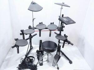 095/ YAMAHA ヤマハ DTX Version 2.0 電子ドラム セット ※ジャンク【直接引き取り可能:岡山市】
