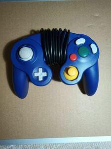 ゲームキューブコントローラー ブルー