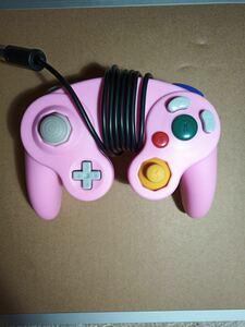 ゲームキューブコントローラー ピンク