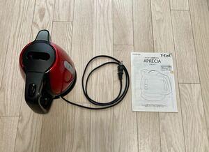 T-fal 電気ケトル アプレシア プラス メタリックルビーレッド 0.8L