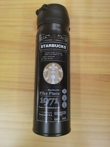 黒 スタバ ステンレスボトル魔法瓶  タンブラー 水筒 ボトル ステンレス