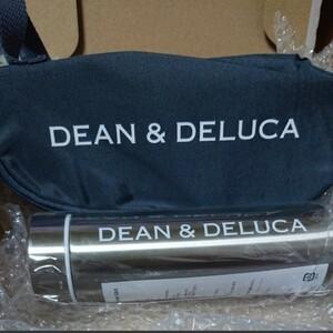 GLOW 8月号 DEAN&DELUCA 保冷ボトルケース 限定シルバーボトル セット