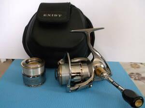 ダイワ イグジスト 2004  替えスプール付  管釣り  ロデオクラフト ヴァルケイン ティモン  ZPIハンドル