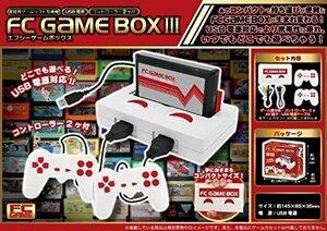 家庭用ゲームソフト互換機 14.5×3.5×8.5cm FC GAME BOX III 家庭用ゲームソフト互換機
