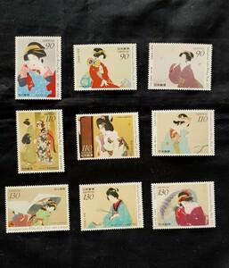 国際文通週間。2010年(平成22年)~2012年(平成24年)。美品。3点3年9種類。記念切手。切手。文通週間。趣味週間。