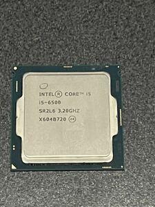 Intel Intel Core i5 6500 3.20GHz~3.60GHz 4C/4T SR2L6 FCLGA1151