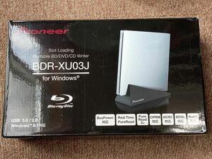 未使用に近い パイオニア BDR-XU03J 縦置き対応 外付けBDドライブ USB3.0 ブルーレイドライブ スロットイン