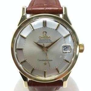 ☆☆ OMEGA オメガ コンステレーション 12角 168.005 シルバー×ゴールド 自動巻き 腕時計 傷や汚れあり