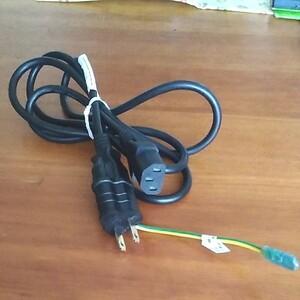 電源ケーブル 3ピン 電源コード