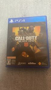 PS4ソフト CALL OF DUTY BLACK OPS 4 コールオブデューティブラックオプス4
