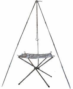 激安 トライポッド 焚き火台 コンパクト セット キャンプ バーベキュー