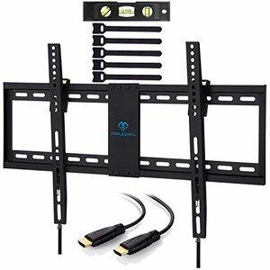 【新品未使用】_32-70インチ PERLESMITH テレビ壁掛け金具 32-70インチ対応 耐荷重60kg LCD LED 液晶テレビ