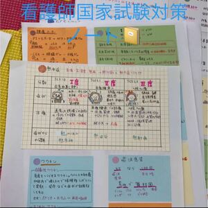 看護師国家試験対策ノート
