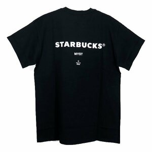 Starbucks Coffee x Fragment Design MIYASHITA PARK FRGMT MYST TEE sizeL スターバックスコーヒー フラグメント ミヤシタパーク Tシャツ