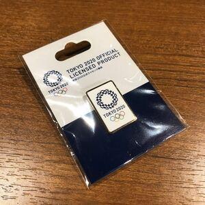 〈送料無料〉白 東京オリンピック 2020 ピンバッジ ピンバッチ 五輪 エンブレム