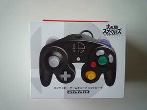 任天堂 ニンテンドーゲームキューブコントローラー スマブラブラック 未使用未開封品 送料無料