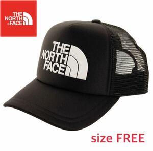 【新品】 THE NORTH FACE ノースフェイス  メッシュキャップ 帽子 黒 ブラック フリーサイズ nn02045