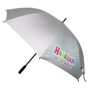 ★Hawaiian UVプロテクト パラソル★アンブレラ★全天候ゴルフ傘★親骨長さ70cm★ハワイアン アロハ オンザビーチ★