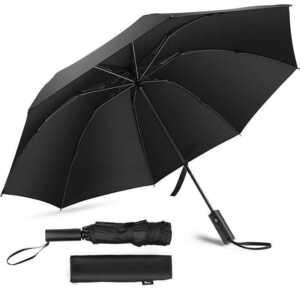 新品 折りたたみ傘 8本骨 ワンタッチ 自動開閉 逆折り式傘 120cm 超撥水加工 折り畳み傘 梅雨対策 台風対応 UVカット 晴雨兼用
