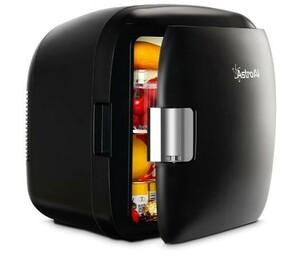 送料無料 AstroAI 冷蔵庫 小型 ミニ冷蔵庫 小型冷蔵庫 車載冷蔵庫 冷温庫 9L 化粧品 小型でポータブル 家庭 車載 保温 保冷 2電源式