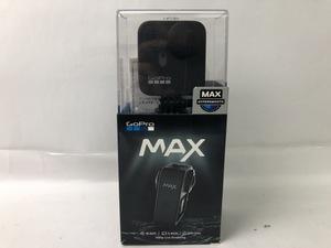 GO Pro MAX アクションカメラ 本体 CHDHZ-201-FW ブラック 元箱 取扱説明書 ケース Cタイプコード ウェアラブルカメラ 旅行 動作確認済み