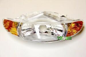ホンダ ライブ ディオ Dio AF34 AF35 2型 II型 ヘッドライト カバー レンズ 社外品