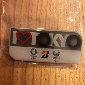 未使用!ノベルティ Tokyo 2020 オリンピックBRIDGESTONE ブリジストン ピンバッジ ピンバッチ バッヂ Olympic