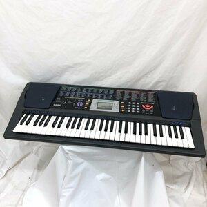 中古 CASIO カシオ 電子キーボード CTK-501 ブラック 61鍵盤 電子ピアノ 鍵盤楽器 アダプター付き H15808