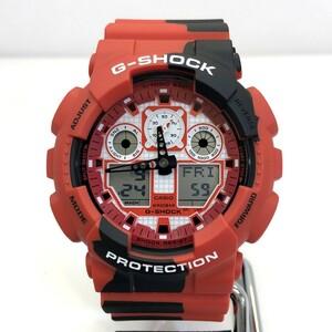 極美品 G-SHOCK ジーショック CASIO カシオ 腕時計 GA-100JK-4AJR 錦鯉 アナデジ デジアナ クォーツ RY5290