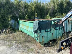 armroll container 8 cubic meter seat attaching industrial waste dismantlement Ibaraki Chiba