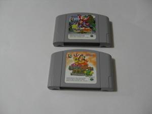 N64 バンジョーとカズーイの大冒険 (ソフトのみ) 2本セット