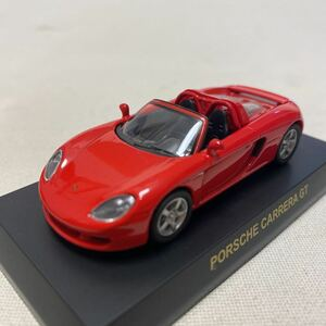 1/64 京商 サンクス ポルシェ 2 カレラ GT 赤 レッド