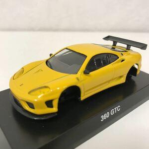 1/64 京商 サンクス フェラーリ 4 360 GTC 黄 イエロー