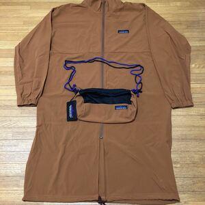 【新品 タグ バックパック付】THOUSAND MILE サウザンドマイル ナイロン コート ジャケット 長袖 アウトドア キャメル メンズ レディース