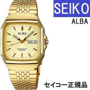 送料無料★特価 新品 SEIKO正規保証付き★ALBA AIGT012 メンズ腕時計 10気圧防水 ステンレス ゴールド セイコーウォッチ★プレゼントにも