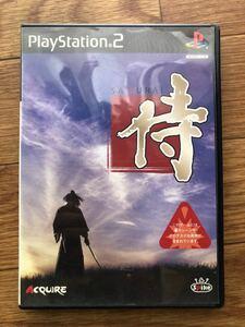 PlayStation2ゲームソフト 侍