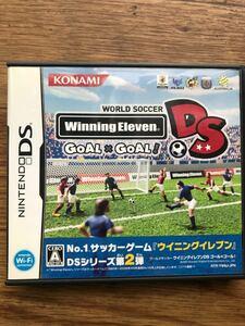 任天堂DS ゲームソフト ウイニングイレブン