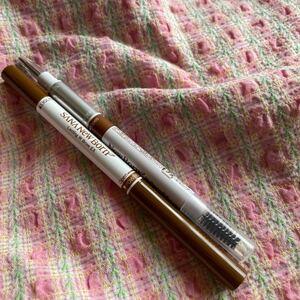 未使用 サナ ニューボーン ラスティングWブロウEX アイブロウペンシル アイブロウパウダー キャメルブラウン