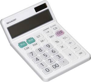 【送料無料】 シャープ ナイスサイズタイプ 12桁 EL-N432-X 電卓