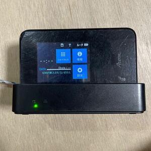 Aterm NEC MR03LN クレードル付属 モバイルWi-Fiルーター