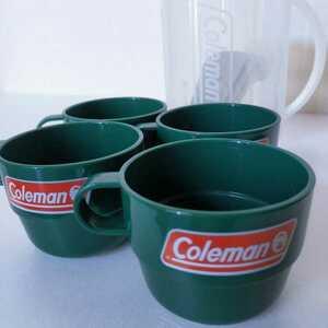 未使用品 コールマン オリジナル レジャーコップセット アウトドア 希少 非売品 レジャーカップ Coleman×SAPPORO