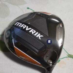 新品キャロウェイ マーベリック MAVRIK ドライバー 10.5度日本仕様  ヘッド のみ ヘッドカバー、レンチ付き 10.5°
