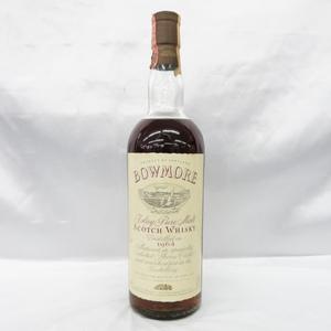 【未開栓】BOWMORE ボウモア 1964 カモメラベル アイラピュアモルト ウイスキー 750ml 43% ※目減りあり 10829558