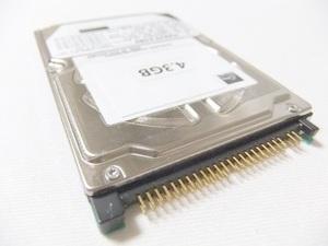 【保証付・送料198円~】NEC製PC-98ノートシリーズ用内蔵2.5インチHDD 4.3GB 信頼の東芝製 保証つき 予備やバックアップに 動作確認済