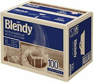 【SALE中!】AGF ブレンディ レギュラーコーヒー ドリップパック キリマンジャロブレンド 100袋 【 ドリップコーヒー