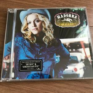 マドンナmusic輸入盤 CD MADONNA