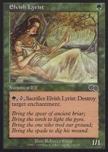 025315-002 US/USG エルフの抒情詩人/Elvish Lyrist 英1枚